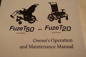 WHEELCHAIR     FUZE T 50    new condition   0B0