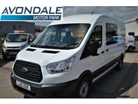 2015 FORD TRANSIT 350 LWB MESSING WELFARE UNIT WITH TOILET RARE CREW VAN DIESEL