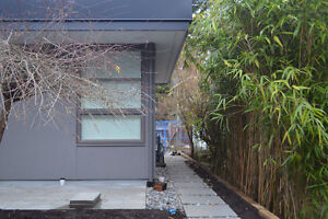 Modern 1 Bed + Den Laneway Home for Lease