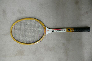 Wooden Tennis Raquet