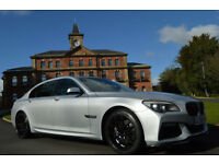 2009 BMW 730 3.0TD auto Ld SE+LWB+FULL CUSTOM BODYKIT+NOT REPLICA+PX SWAP M5 M3