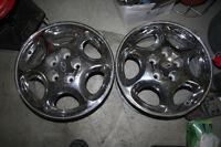 "2 - 16"" Old Alero Chrome Factory alloy rims 5x115 bolt pattern"