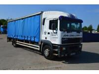 ERF EC 6 4x2 Rigid curtainside truc, Cummins engine Manual Gearbox and fuel pump