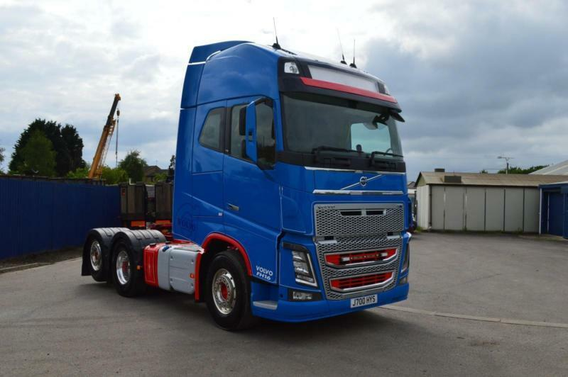 Volvo Fh16 750 Globetrotter 6x2 Tag Axle Tractor Unit In March Cambridgeshire Gumtree