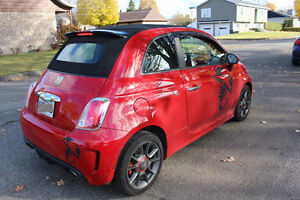 2013 Fiat 500 ABARTH Coupe (2 door) Convertible 1.4 L Turbo