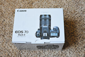 Canon EOS 7D Mark II DSLR Camera with 18-135mm IS STM Lens Kit