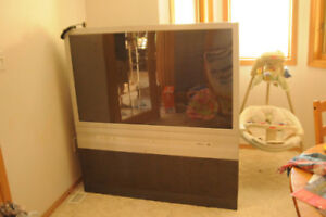 """52"""" projector TV in good condition - FREE"""