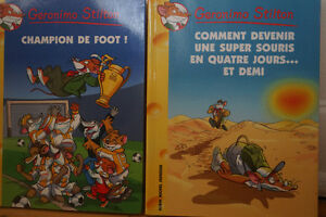 7 Livres Geronimo Sitlton Neufs, numeros #9.15,18,26,28,30,36