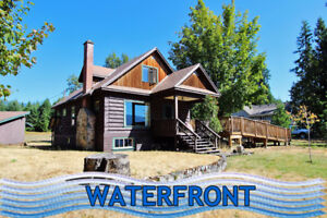 Classic 1939 waterfront home in Anglemont!