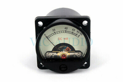 Diy Amplifier Accessories Mini Meter 100ma Ammeter 6-12v With Warm Backlight