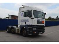 MAN/ ERF TG-A 6x2 Tractor unit