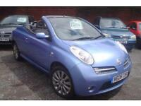 2006 Nissan Micra C+C 1.6 SPORT+lovely colour+convertible +4 seats