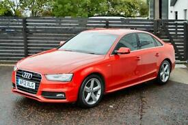 2012 AUDI A4 S LINE 177 FACELIFT £30 TAX FASH 1 OWNER FREE WARRANTY LOW FINANCE