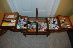 Vintage Sewing Box/Basket Cornwall Ontario image 2