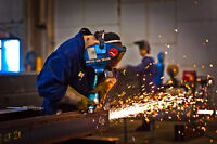 Full-time welders wanted!!!!!