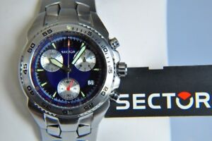 Montre SECTOR CHRONO ** SWISS made ** Valeur $650.00 ** SUISSE