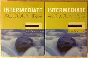 Intermediate Accounting Vol.1/Vol.2 with CD $10.00