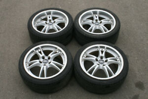 "JDM 18"" MANARAY SPORT VERTEX VR-5 RIMS & TIRES (5X114.3)"