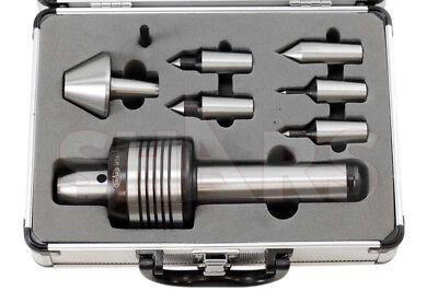 Shars Mt 5 Morse Taper Medium Duty Cnc Live Center Set 2000rpm 0.0006 Tir Cert