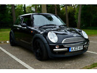 2003 03 MINI MINI 1.6 COOPER 5 SPEED MANUAL BLACK PX SWAP SWOP