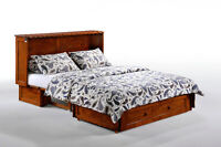 Clover Murphy Cabinet Bed – Instant guest bed!