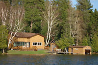 COTTAGE / YEAR ROUND ON ICE CHEST LAKE  Further Reduced