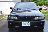 2004 BMW 3-Series 325I Sedan E46 Black Automatic