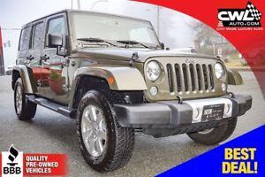 Jeep Wrangler Unlimited Sahara 4WD 4DR 2015