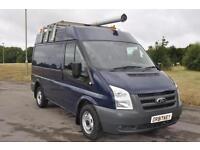 Ford Transit T300 swb med roof Diesel Van Blue 50,218 Miles £6,895 + VAT
