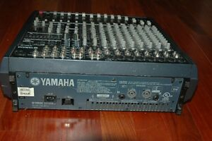 Power Mixer amplifie YAMAHA 2X500 West Island Greater Montréal image 2