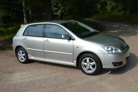 2006 TOYOTA COROLLA 1.4 D 4D Colour Collection 5dr ONLY 45,000 MILES