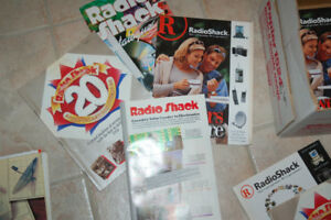 Radio shack cataloges