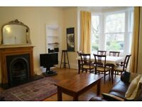 Family holiday let / short term flat Central Edinburgh Marchmont. Wifi. Cot, hi chair. Sleeps 5