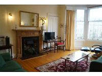 Family holiday let / short term flat Central Edinburgh Marchmont. Wifi. Cot, hi chair. Study