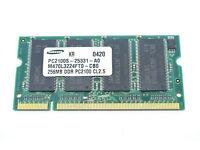 Samsung 256 MB PC2100 DDR-226 266MHz Laptop Memory Ram