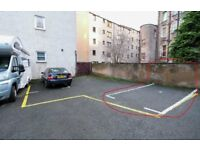 Quiet, secure allocated parking space in Dalry