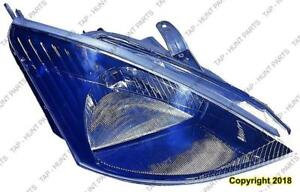 Head Lamp Passenger Side With Svt Black Bezel High Quality Ford Focus 2002-2004