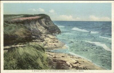 Used, Nantucket MA North Shore c1910 Detroit Publishing Postcard for sale  Shipping to Canada