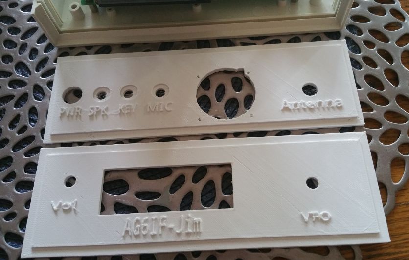3D printed Front / Back panel for EF01 case for uBITX HF Transceiver |  Shopping Bin - Search eBay faster