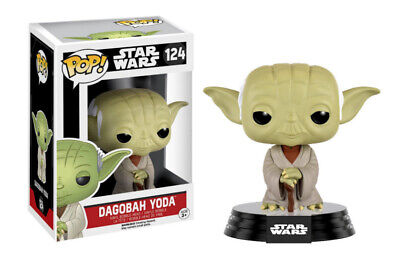 Pop! Star Wars: Dagobah Yoda #124
