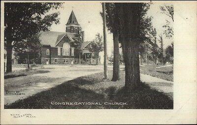 For sale West Boylston MA Cong Church c1910 Postcard #2