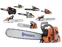 Chainsaw servicing sharpening maintenance. Concrete saw servicing. Stihl Husqvarna.