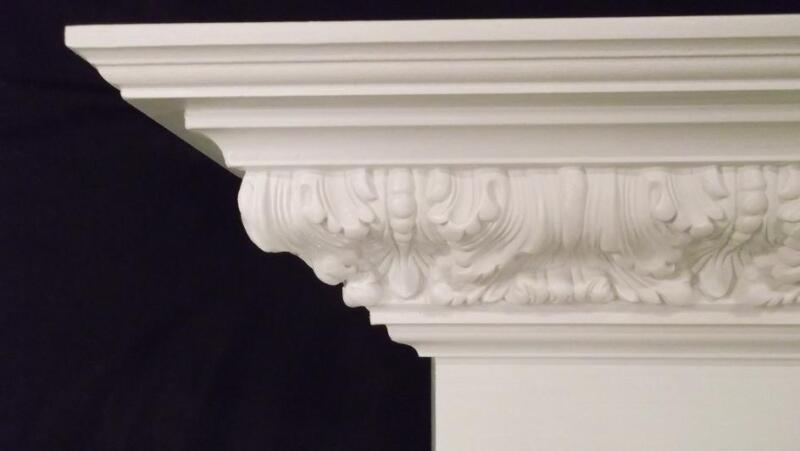 Gas / Wood Victorian Style Fireplace Mantel Surround