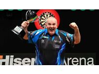 PDC Darts Final Tickets For Sale x2