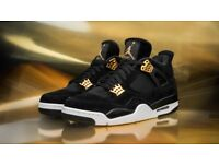 Air Jordan 4 Royalty (used once great condition!)