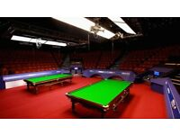 Marco Fu vs Lyu Haotian Snooker Tickets for tonight