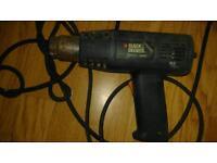 Black and Decker kx1600 heat gun