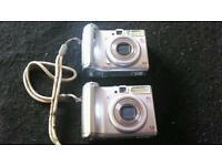 Two Canon camura s