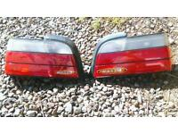 Bmw e36 coupe front and backlights