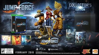 NEW Jump Force XBOX ONE - Collectors Edition PRE-ORDER *Ships 02/19*